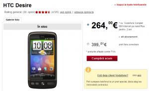 HTC Desire Vodafone