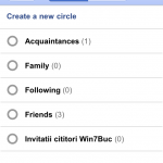 Google Plus Web App