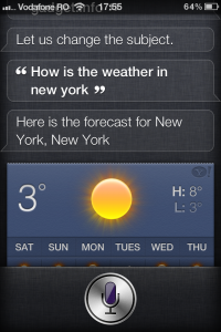 iPhone 4 Siri Demo